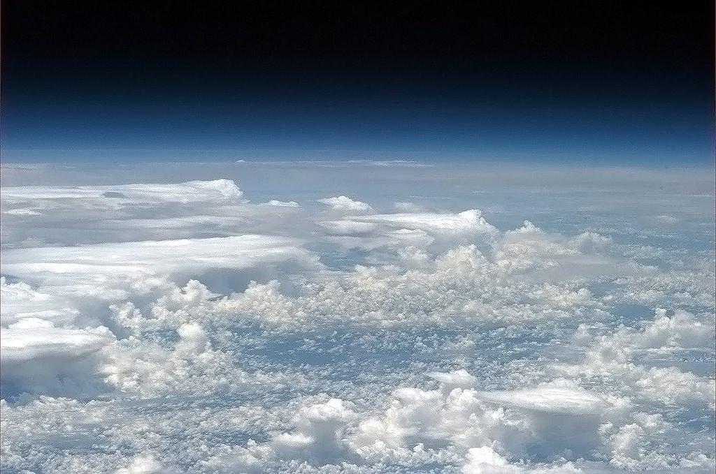 """Bouře nad Amazonií - foceno na """"dlouhé sklo"""""""