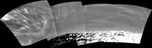 Oblaky na marsovskej oblohe.