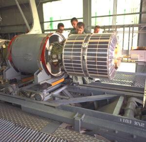 ESRO I připojená ke čtvrtému stupni rakety Scout B.