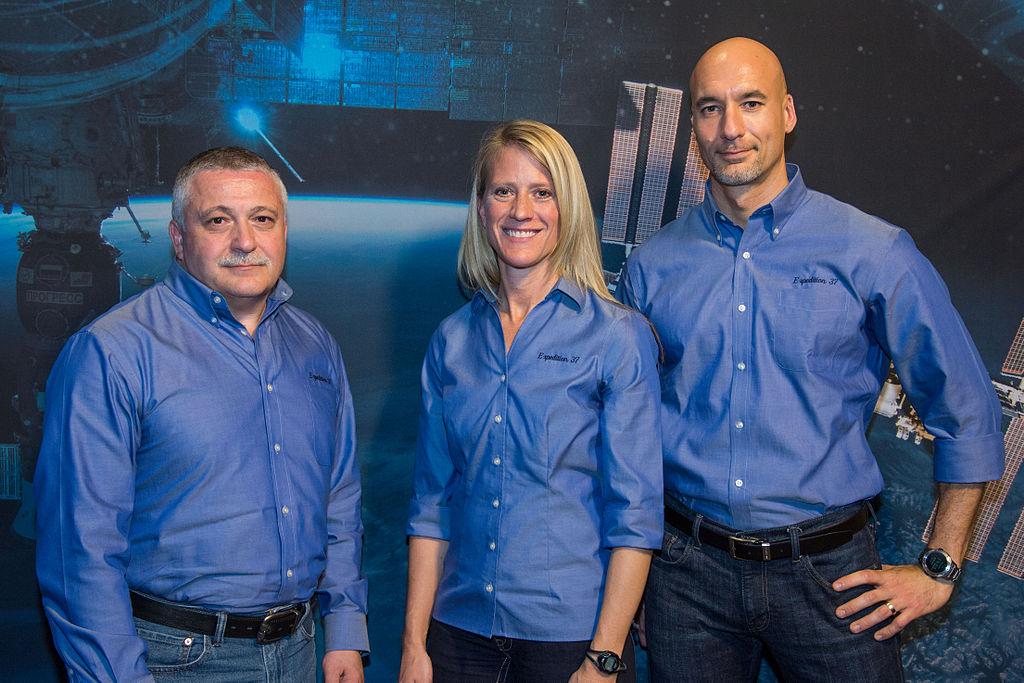 Posádka Sojuzu TMA-09M: Fjodor Jurčichin - Karen Nyberg - Luca Parmitano