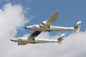 Letadlo White Knight Two bez zavěšeného SpaceShipTwo
