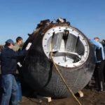 Přistání Bionu-M zdroj: biosputnik.imbp.ru