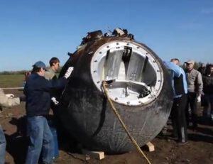 Přistání Bionu M-1