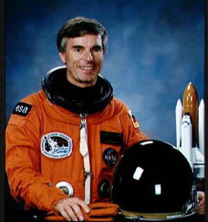 Ulf Merbold - první astronaut ESA, který se dostal do vesmíru.