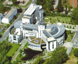 Operační centrum Eumetsatu, Darmstadt, Německo.