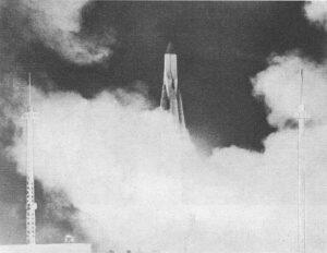 Sputnik-1 startuje