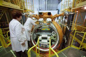 Plnění Bionu-M biologickými experimenty zdroj:biosputnik.imbp.ru