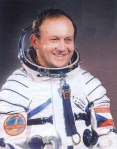 Vladimír Remek – první Evropan a prozatím jediný Čech ve vesmíru.