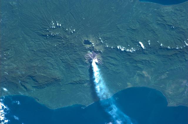 Sopka Bougainville (Papua Nová Guinea)