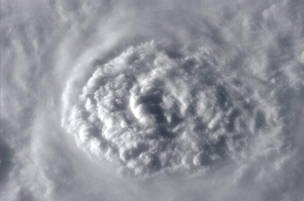 Růže z mraků vykvetla nad jižním Pacifikem.