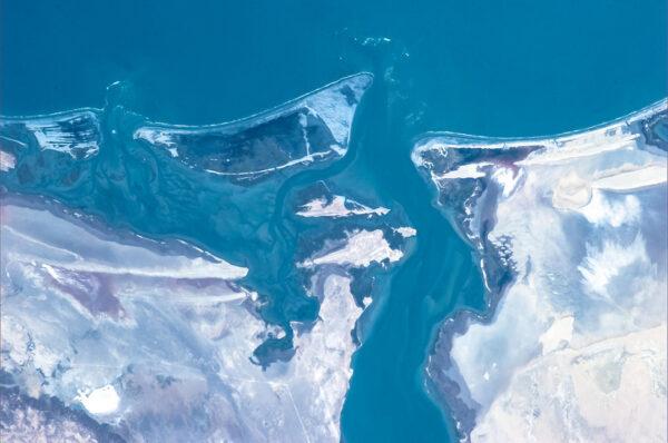 Pobřeží mexického spolkového státu Baja California.