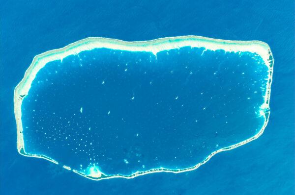 Opět Francouzská Polynésie - tentokrát atol