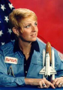 Millie Hughes-Fulford v době, kdy ještě byla v NASA.