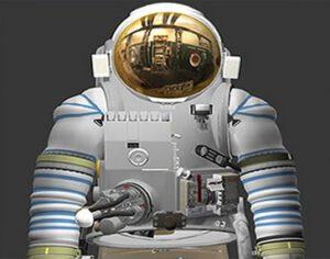 Skafandr Orlan-MT zdroj: spacesimulatorcenter.ru