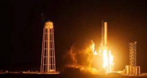 Test prvního stupně Falcon 9 v1.1