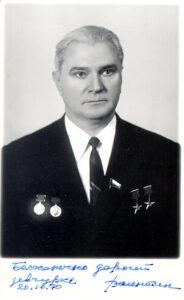 Valentin Gluško na počátku 70. let.