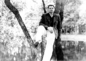 Gluško v plne síle v roce 1950.