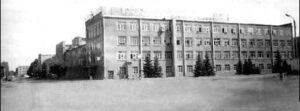 Šaraška v Kazani, kde Gluško během války pracoval.