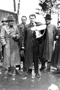 Wernher von Braun po zajetí Američany.