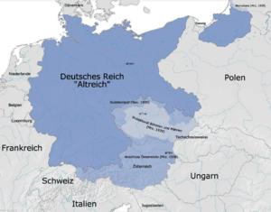 Německo po anexi Rakouska a zabrání Sudet