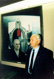 Valentin Gluško v roce 1987.