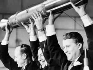 Wernher von Braun a první Americký satelit Explorer 1