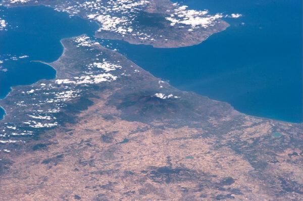 Další známá sopka - Etna