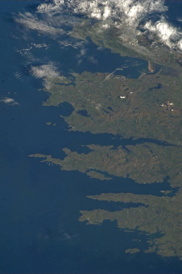 Rozeklané pobřeží Irska