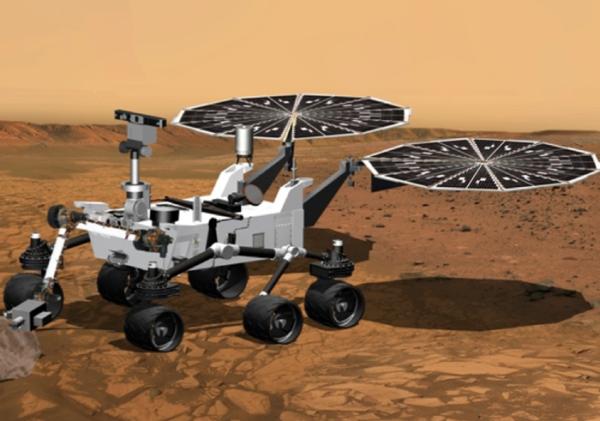 Takto by mohol vyzerať Mars rover 2020, ak by NASA neschválila rozpočet v plnej výške.