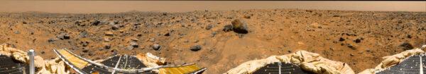 Panoráma zo sondy Pathfinder.