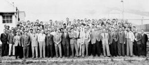 Tým 118 německých raketových techniků na základně Fort Bliss