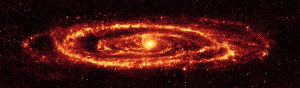 Galaxie M31 ze souhvězdí Andromeda