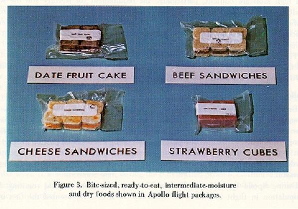 Příklady kosmických sendvičů- tyhle už jsou ovšem z dob Apolla.