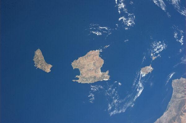 Baleárské ostrovy ve Středozemním moři