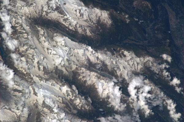 Alpy u Komského jezera