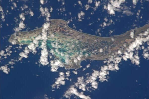 Kiribati - malé souostroví v Tichém oceánu.