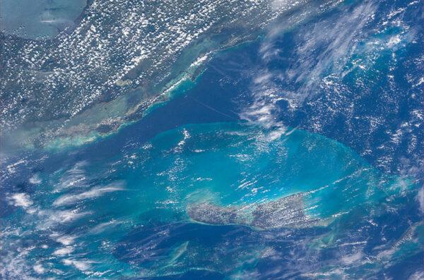 Ostrov Andros u pobřeží Floridy