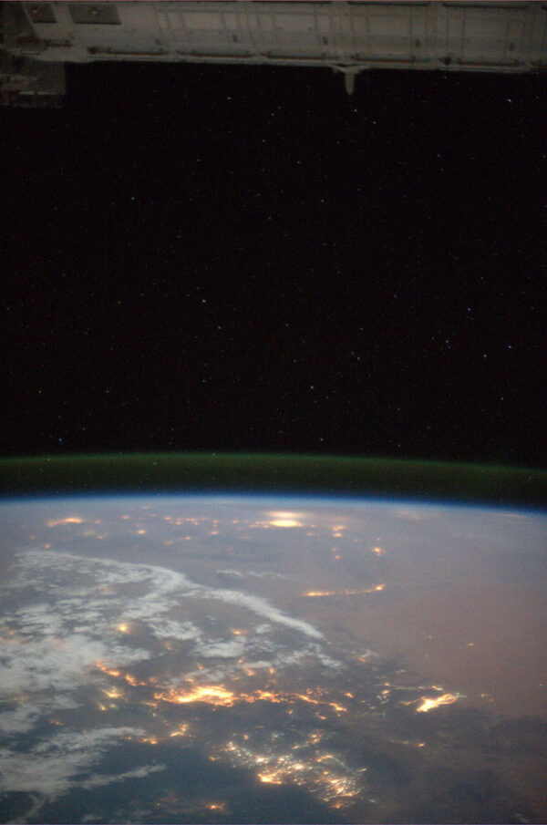 Východní Afrika - tentokrát ale noční záběr i s hvězdami