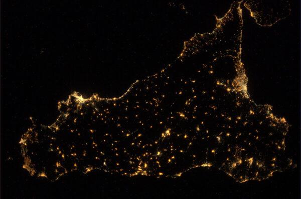 Noční Sicílie