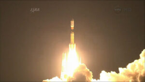 Start rakety H-IIB s lodí Kounotori