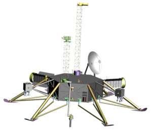 Možná podoba landeru zdroj:nasa.gov