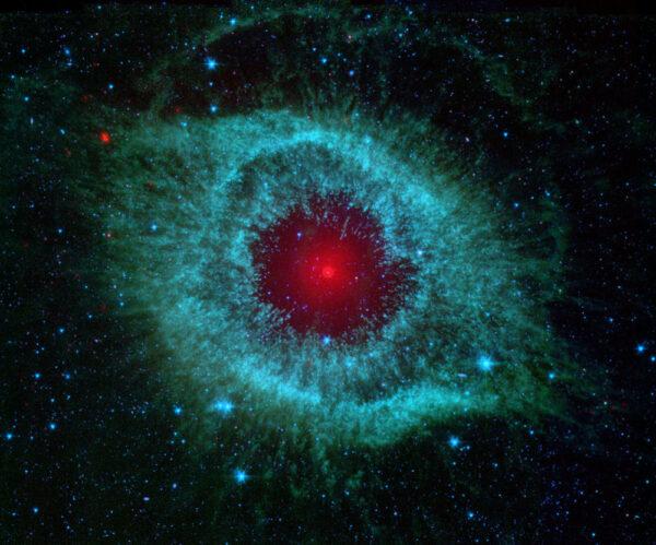 Planetární mlhovina Helix ze souhvězdí Vodnáře.