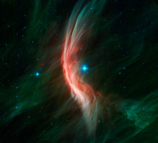 Okolí hvězdy Zeta Ophiuchi ze souhvězdí Hadonoše