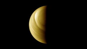 Terminátor Venuše nad jižním pólem.