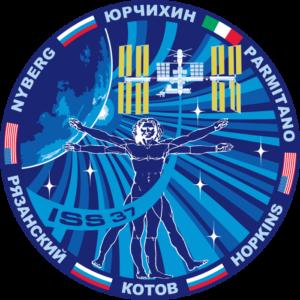 Oficiální logo 37. dlouhodobé expedice na ISS