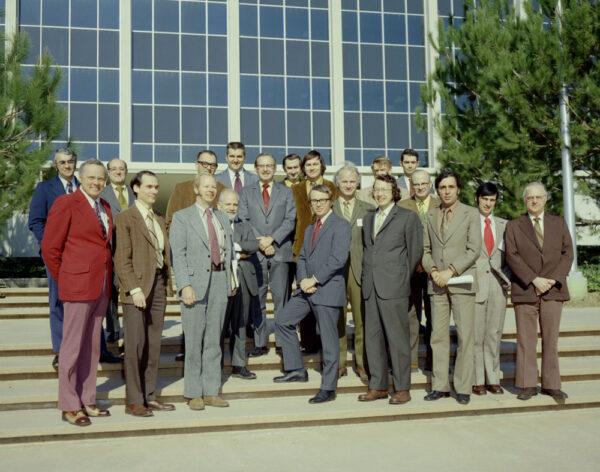 Tým, který stál v polovině sedmdesátých let na začátku vývoje sond Voyager