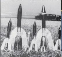 Otčenáškovo rakety s velkými řídicími plochami