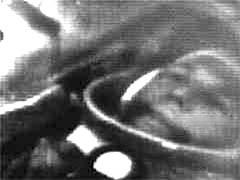 Gagarin během letu
