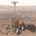 ExoMars rover na Marsu v představě malíře zdroj:esa.int