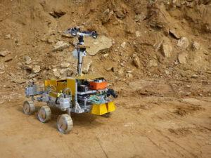 Rover projektu SAFER zdroj:esa.int